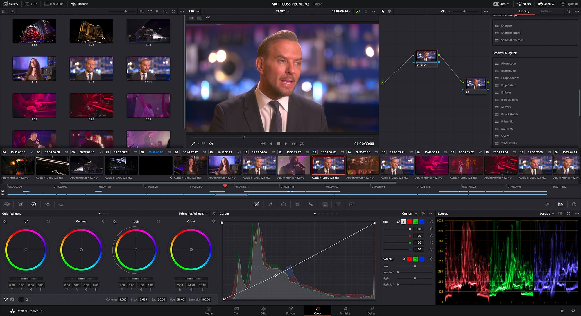 DaVinci Resolve 16 - Color