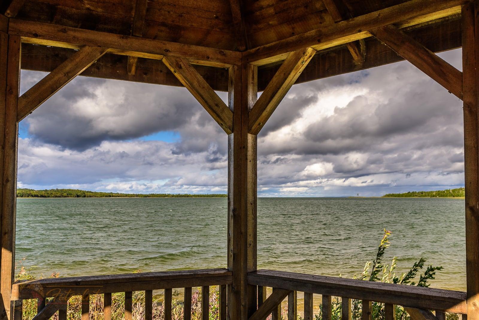 Pavillon am Julia Bay auf Manitoulin Island (Kanada) - Foto: Michael Stollmann