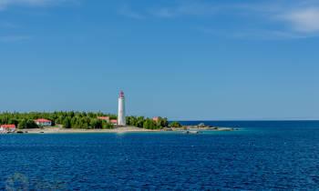 Leuchtturm auf Cove Island
