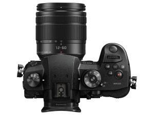 Panasonic LUMIX GH5 - oben | Foto: Panasonic