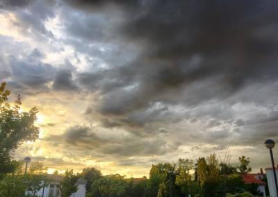 Das schöne am Regenwetter… die Wolken