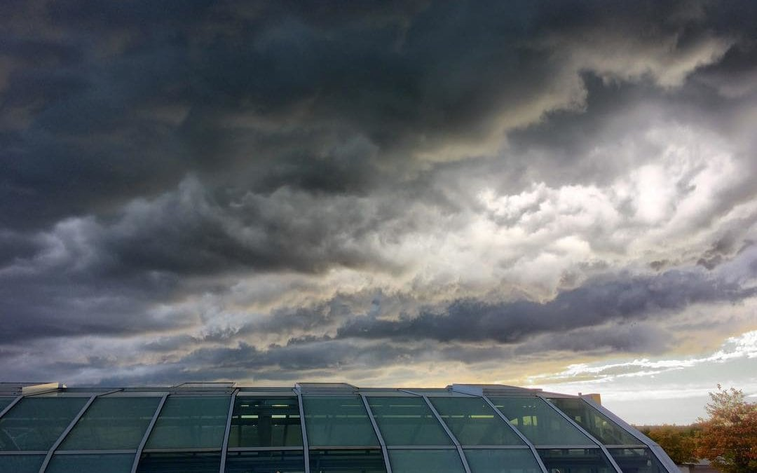 Some stormy Clouds over Erfurt