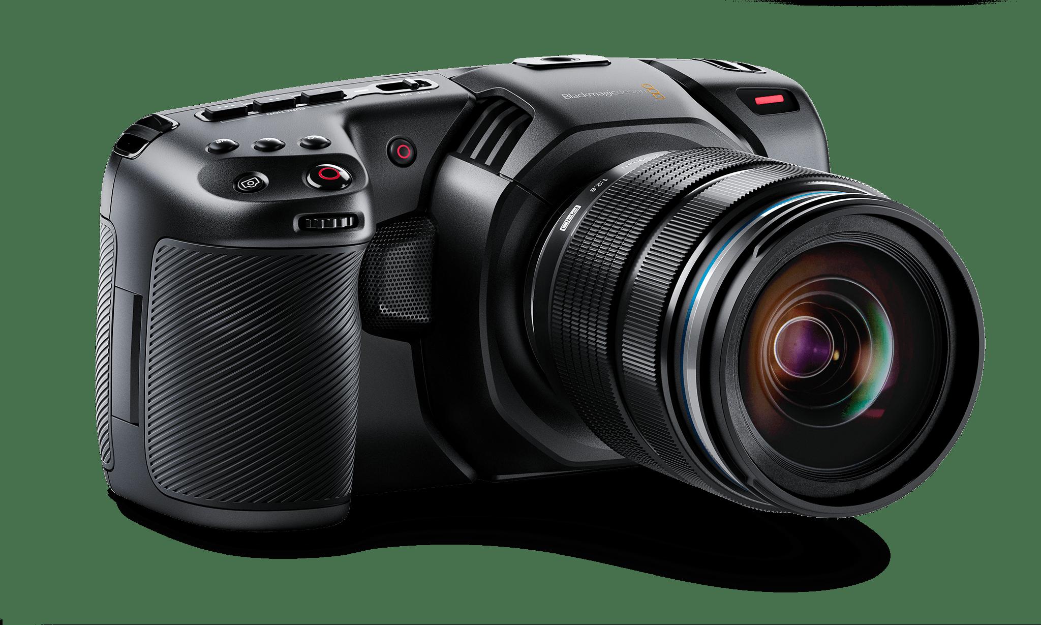Blackmagic - Pocket Cinema Camera 4K - linke Ansicht - Credit Blackmagic Design