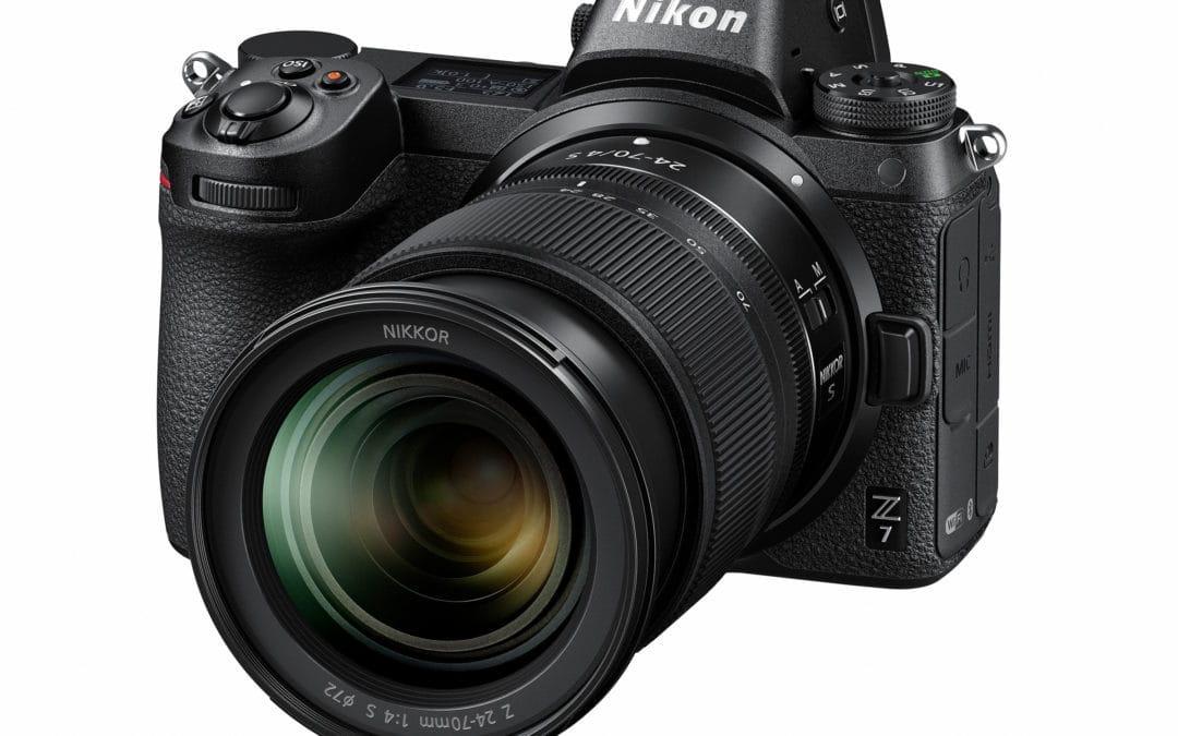 Nikon stellt das neue Z-Bajonett und zwei spiegellose Vollformatkameras vor.