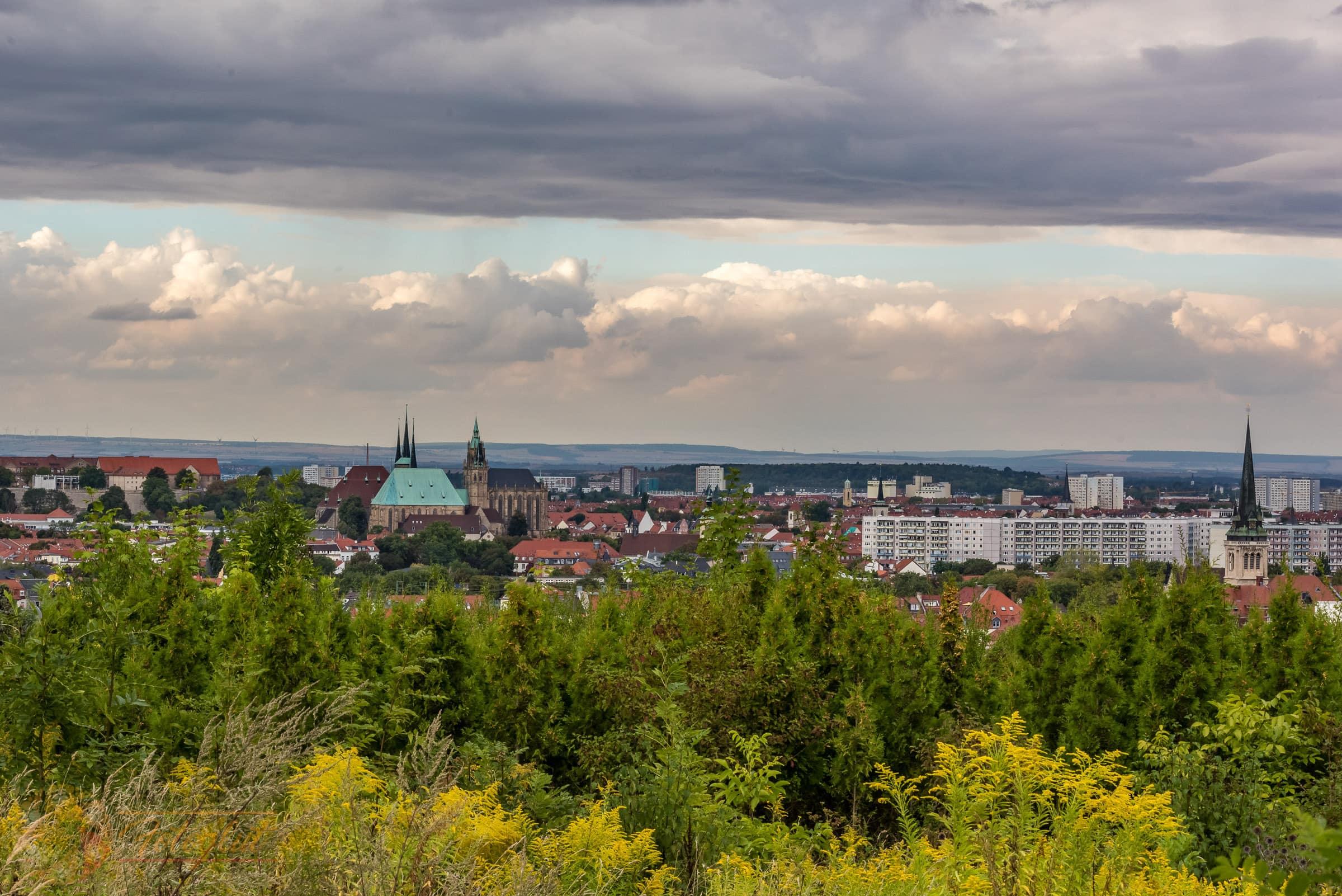Erfurt Stadtpanorama - Michael Stollmann - fotoglut