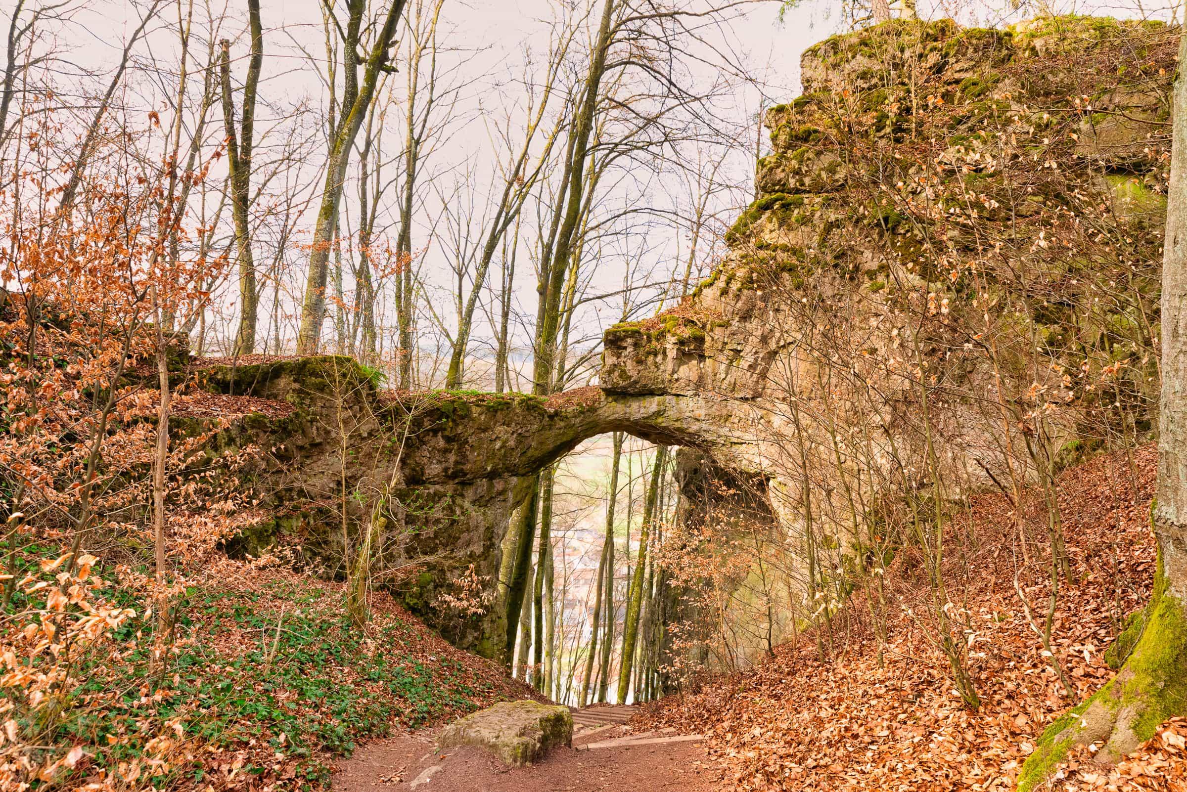 Das Felsentor bei Unteremmendorf - © FotoGlut - Michael Stollmann