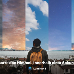 Der Himmel ist die Grenze: Luminar 4 Sky Replacement Technologie
