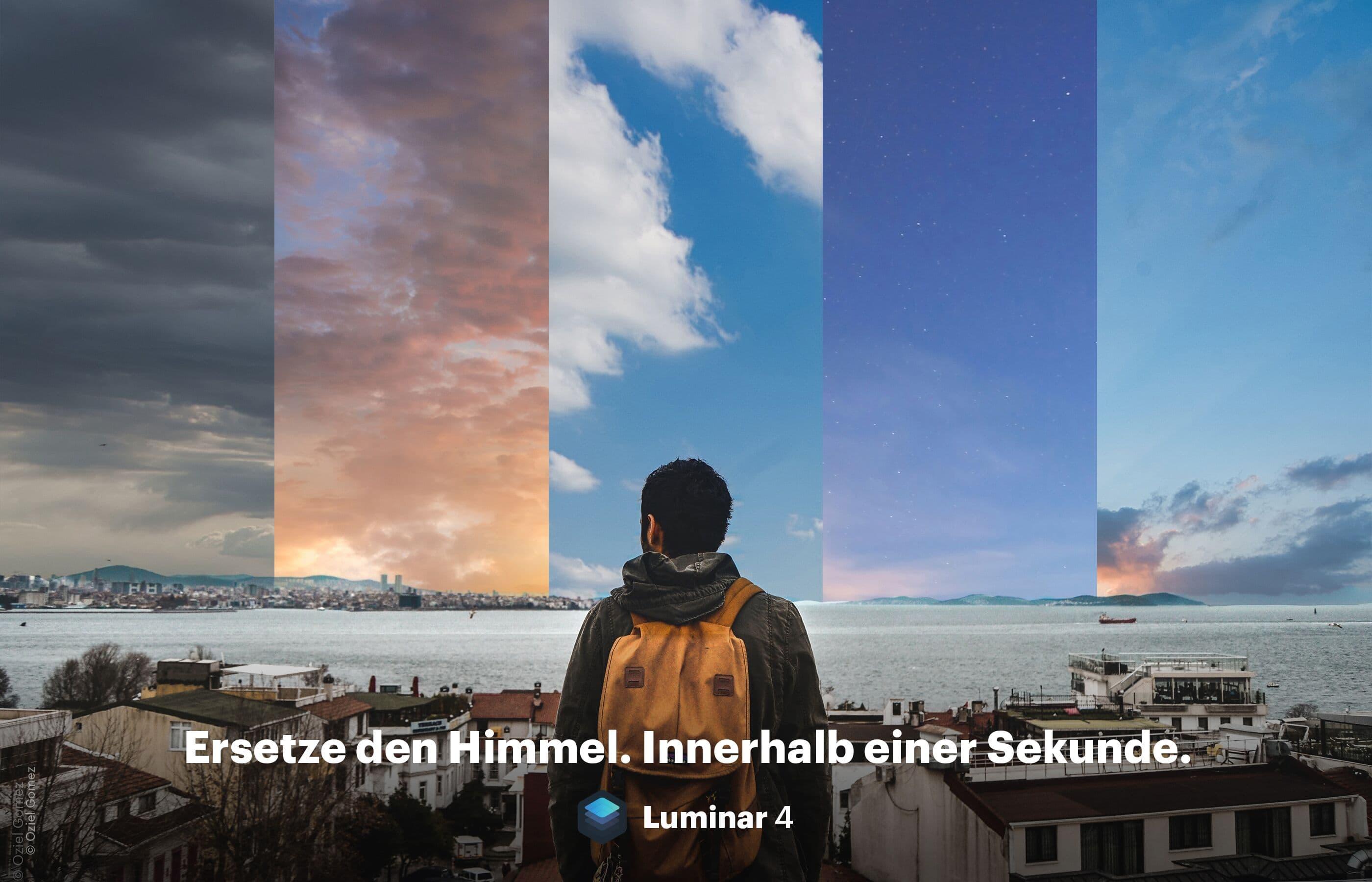 Ersetze den Himmel innerhalb einer Sekunde | Luminar 4