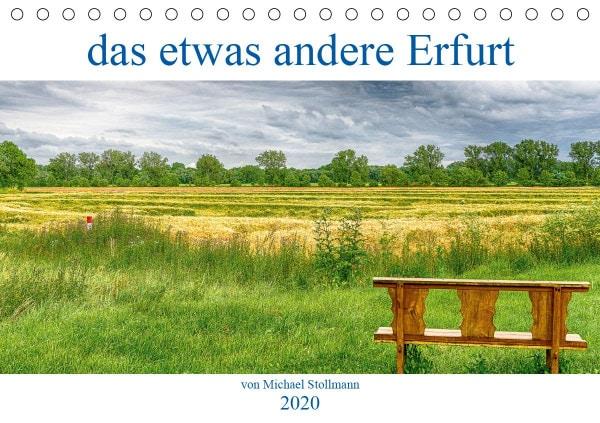 Cover des Kalenders das etwas andere Erfurt 2020