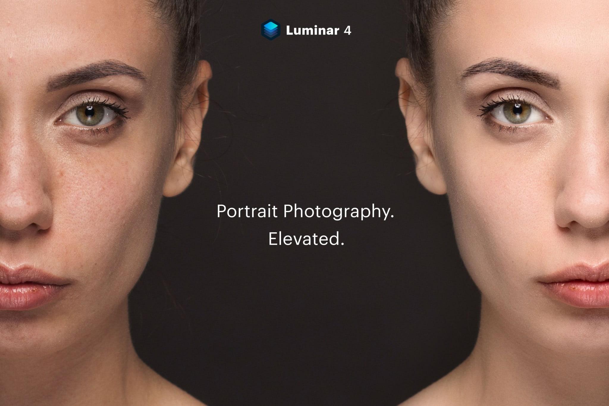 Luminar 4 - Portrait - hero