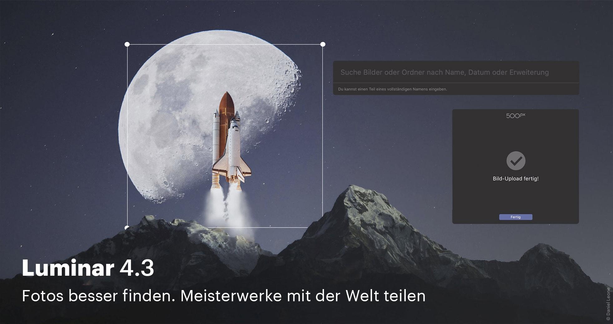 Luminar Update 4.3 - Spaceshuttle