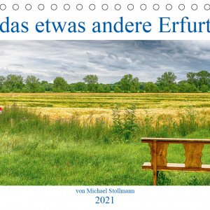 Cover des Kalenders das etwas andere Erfurt 2021
