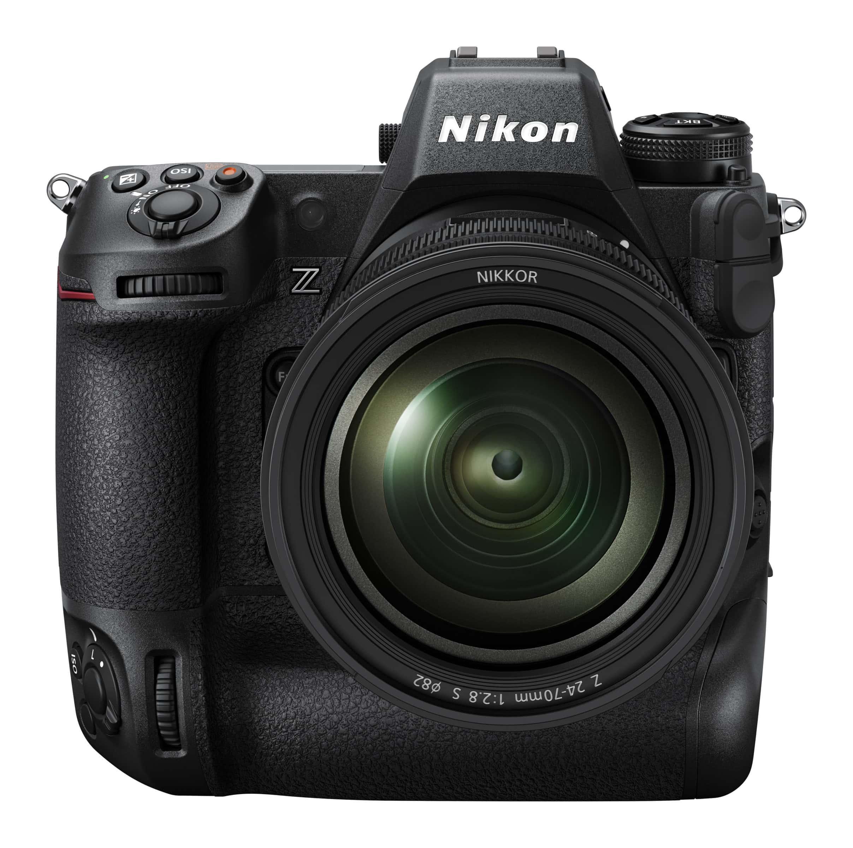 Nikon Z9 Vorschau - Das Erscheinungsbild der Kamera kann vom oben gezeigten Foto abweichen.