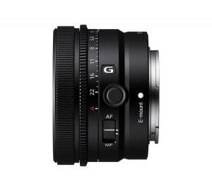 Sony FE 50 Millimeter F2.5 G - Seitenansicht