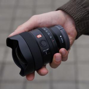 Das neue FE 14 Millimeter F1.8 GM von Sony