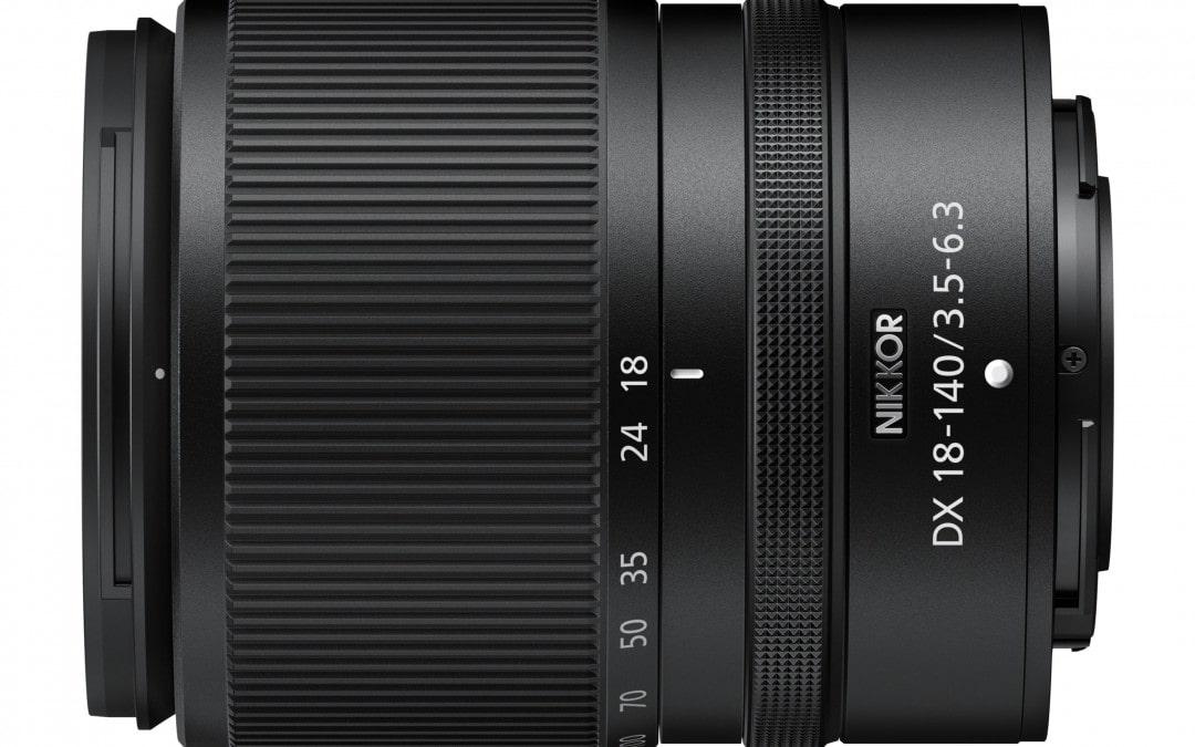 NIKKOR Z DX 18–140 mm 1:3,5–6,3 VR in Entwicklung