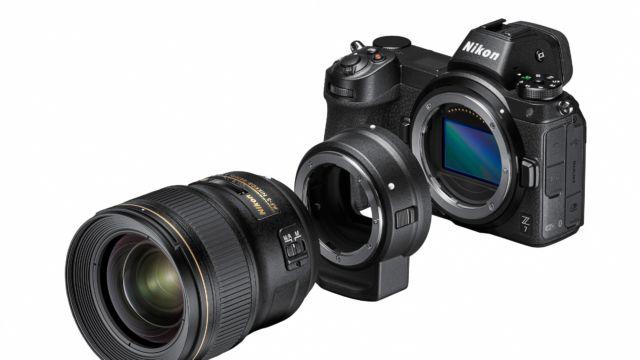 NIKON Z7 mit Adapter FTZ und 28/1.4 | Quelle: Nikon