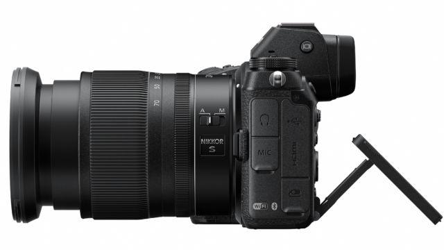 NIKON Z7 / Z6 - Monitor ausgeklappt | Quelle: Nikon