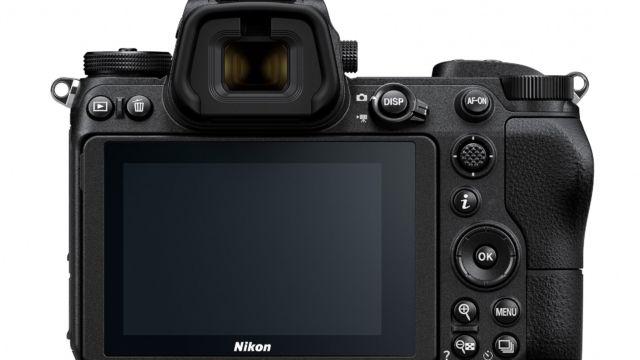 NIKON Z7 / Z6 Rückseite | Quelle: Nikon