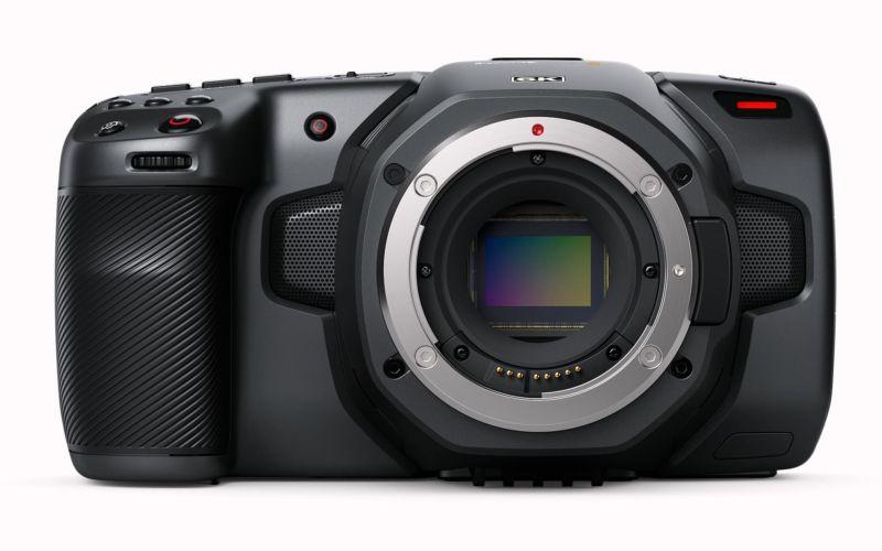 Blackmagic Pocket Cinema Camera 6K - front