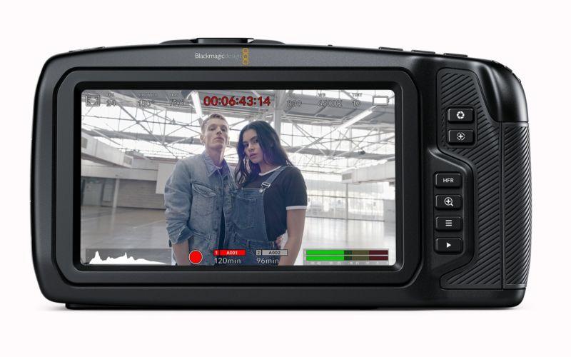 Blackmagic Pocket Cinema Camera 6K - back
