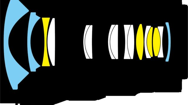 Nikkor Z14-24 F2.8 Konstruktionszeichnung