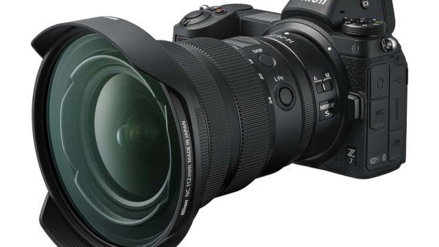 Nikkor Z14-24 2.8 mit PL 112 an einer Nikon Z7