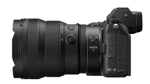Nikkor Z14-24 2.8 an einer Nikon Z7