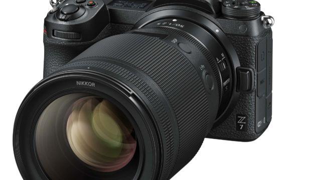Nikkor Z50 f / 1.2 an einer Nikon Z7