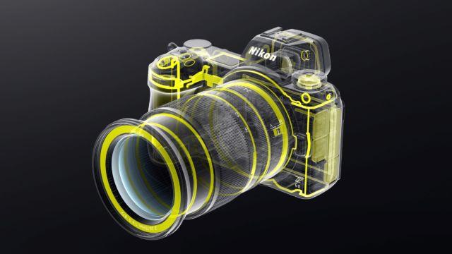 Nikon Z6II - Systemabdichtung