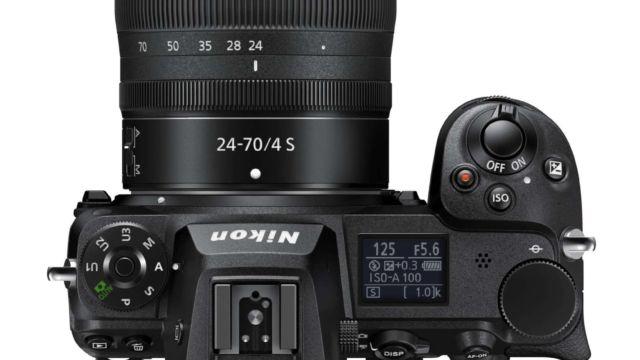 Nikon Z6II - Monitor geklappt