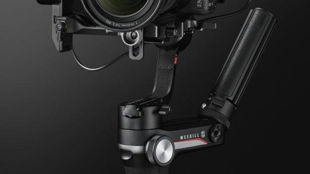 Nikon Z6II - mit 50mm f/1.8 auf einen Gimbal