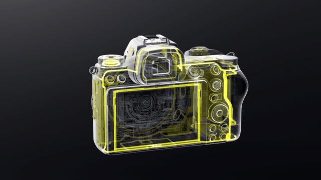 Nikon Z6II - die Abdichtung Rückseite
