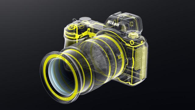Nikon Z7II - Systemabdichtung