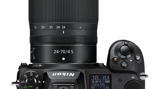 Nikon Z7II - mit 24-70 F/4 von Oben