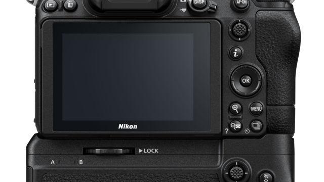 Nikon Z7II - mit MB-N11 Rückseite