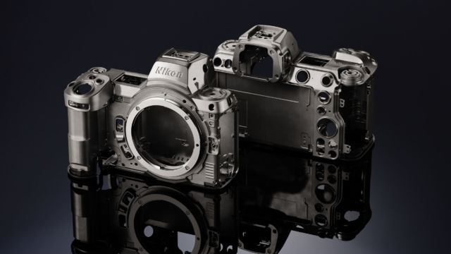 Nikon Z7II - unverkleidetes Gehäuse