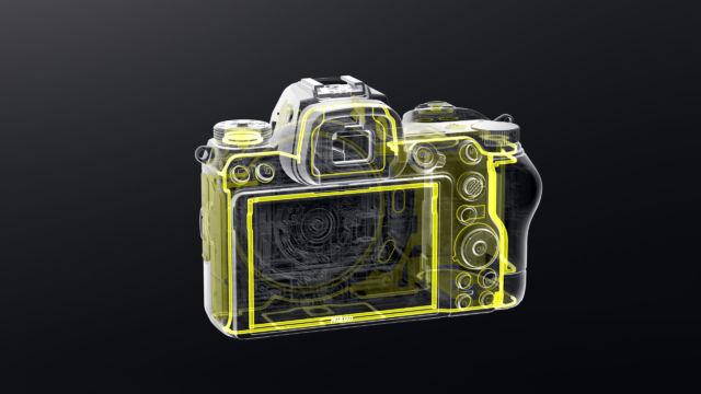 Nikon Z7II - Rückseitenabdichtung