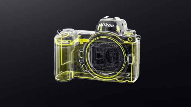 Nikon Z7II - Frontabdichtung