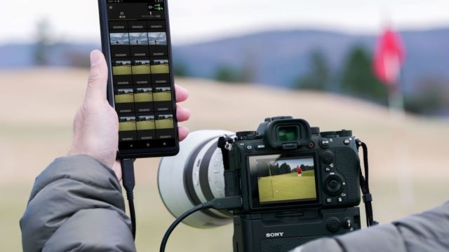 Sony Alpha 1 mitr Experia Pro