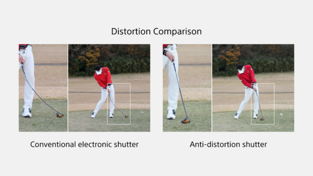 Sony Alpha 1 - Anti Distortion Shutter