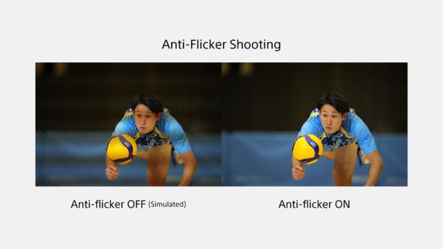 Sony Alpha 1 - Anti Flicker