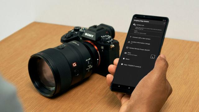 Sony Alpha 1 Workflow Wifi