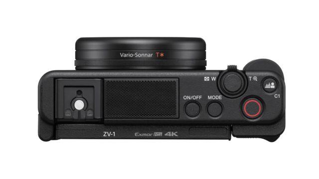 Sony ZV-1 von oben
