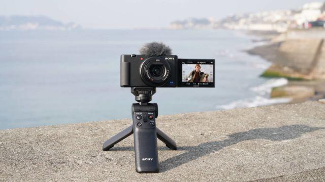 Sony ZV-1 - Selbstportrait mit VPT2BT