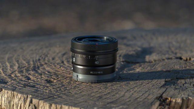 Sony FE 40 Millimeter F2.5 G