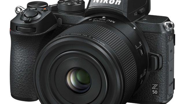 Nikon Z50 mit NIKKOR Z MC 50 mm 2.8